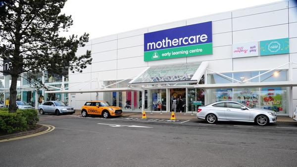 Mothercare Sprucefield store outside