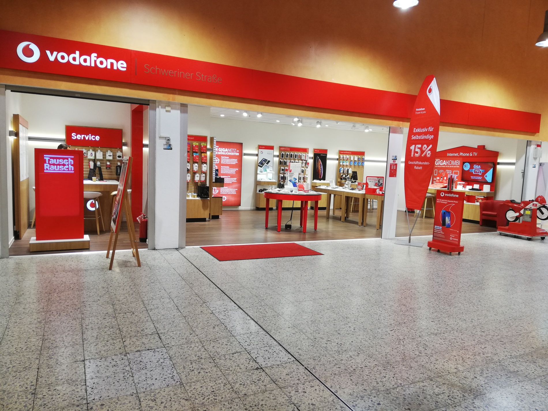 Vodafone Störung Schwerin