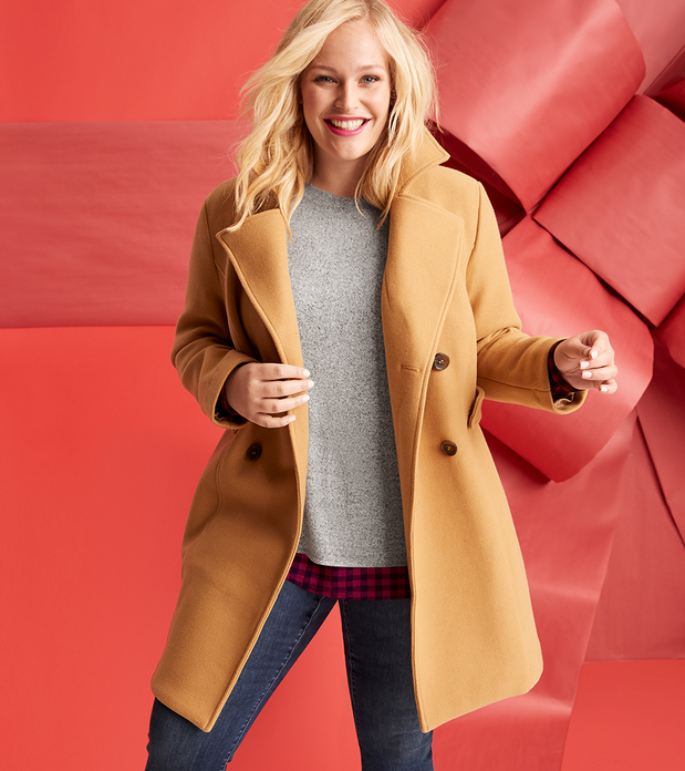 Lane Bryant Plus Size Outlet Jackets and Coats