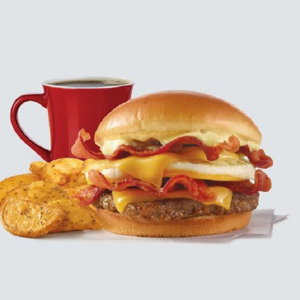 Wendy's Breakfast Baconator® Combo