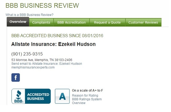 Ezekeil Hudson - Ezekeil Hudson's Agency is now Accredited by the Better Business Bureau