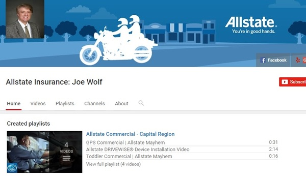 Joe Wolf - Joe Wolf YouTube Channel