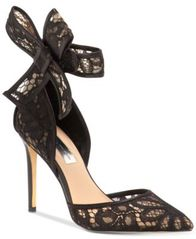 Image of INC International Concepts Kaiaa Bow Evening Pumps, Created for Macy's