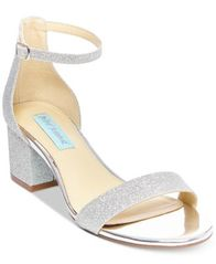 Image of Blue By Betsey Johnson Miri Evening Sandals, Created for Macy's