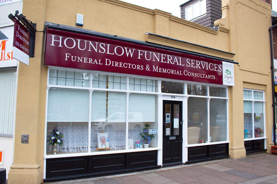 Hounslow Funeral Directors in 154 London Road, Isleworth