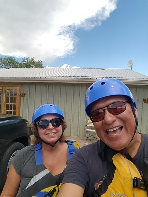 Sheila and I love to raft in Colorado... as long as we find a really, really good guide!