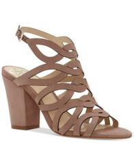 Image of Vince Camuto Norla Strappy Block-Heel Sandals