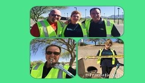 Special THANK YOU to Service Masters Superstars who helped in our clean up event
