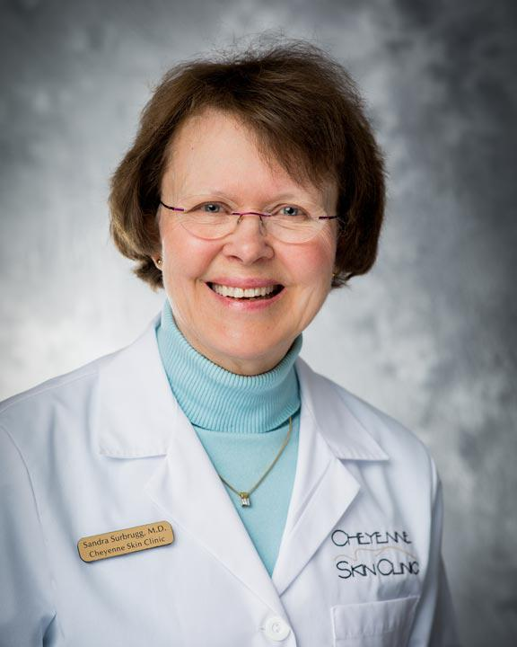 Headshot of Sandra Surbrugg, MD