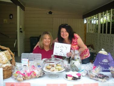 BIG bake sale and garage sale. Bake sale benefits the March Of Dimes!