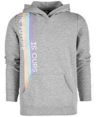 Image of Ideology Big Girls Future-Print Hoodie, Created for Macy's