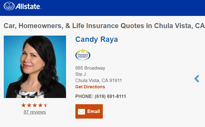 Allstate Insurance Quote Online Extraordinary Life Home & Car Insurance Quotes In Chula Vista Ca  Allstate