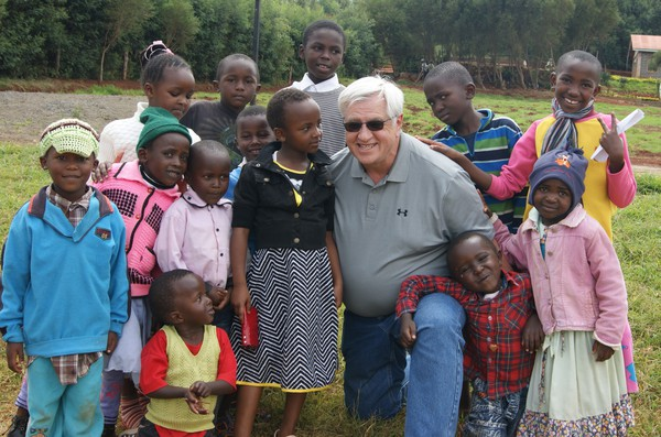 Paul Skaling - Paul helping the kids of Kenya by building them a new school.