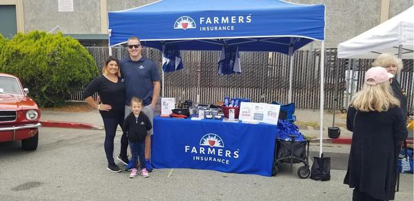 Farmers agents at Horsepower Car Show