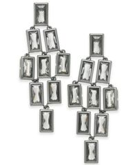 Image of Alfani Geometric Stone Chandelier Earrings, Created for Macy's