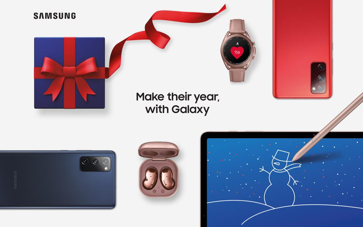 Make their year, with Galaxy