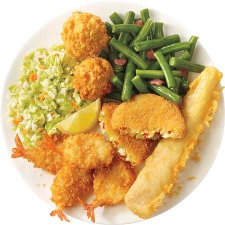 Image of Fish, Shrimp & Crab Cake