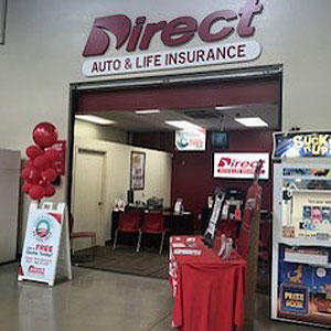 Front of Direct Auto store at 901 West Expressway 83, San Juan
