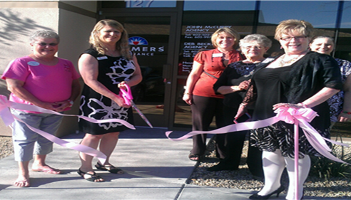 GPS Ribbon-cutting at our new office location in Glendale, AZ 85308
