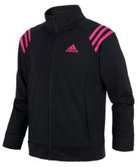 Image of adidas Big Girls Front-Zip Jacket