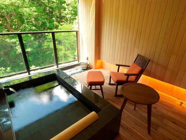[Onsen open-air bath & sauna] Suite open-air bath