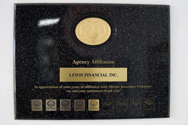 Lewis Financial Inc. - 25 Years