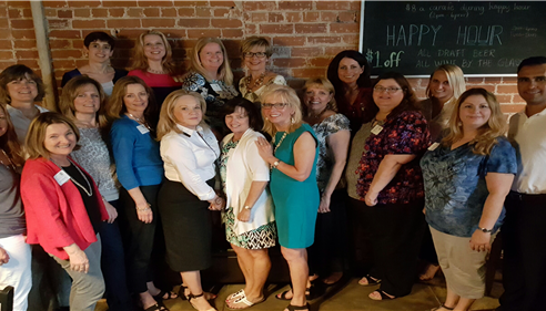 Commercial Real Estate Women Summer Meeting with CREW President Gail Ayers