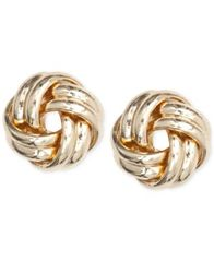 Image of Anne Klein Knot Stud Earrings