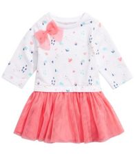 Image of First Impressions Baby Girls Festive-Print Tutu Dress, Created for Macy's