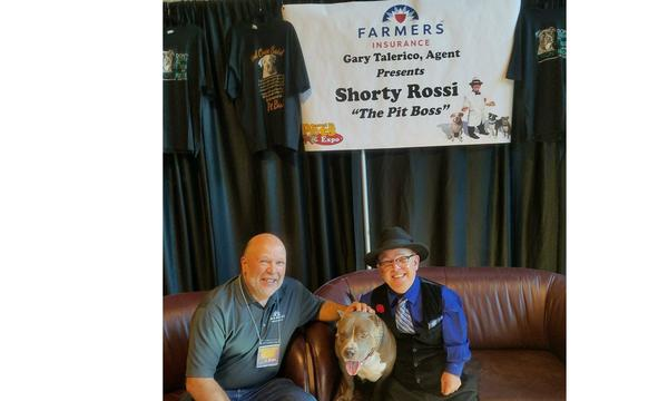 Gary spending some time with Shorty Rossi at the Central Pa Pet Expo 2017