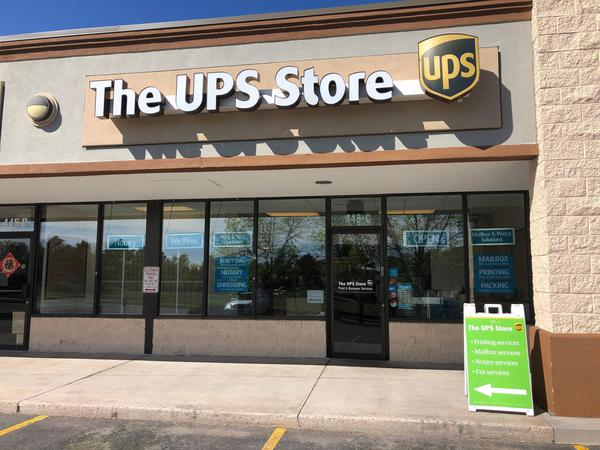 Facade of The UPS Store Colorado Springs