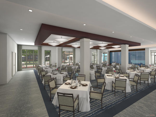 Senior Lifestyle The Sheridan at Birmingham Dining Photo