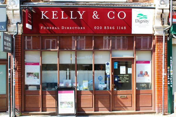 Kelly & Co Funeral Directors in Finchley, London.