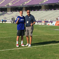 Josh-House-Allstate-Insurance-Trophy-Club-TX-TCU-Field-Goal-Challenge-kicker