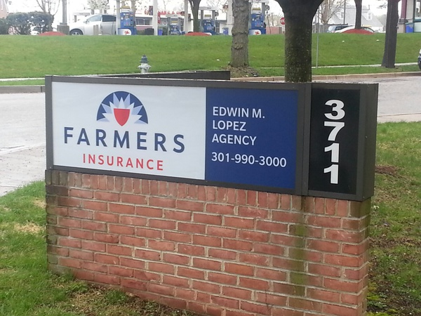 Farmers office sign