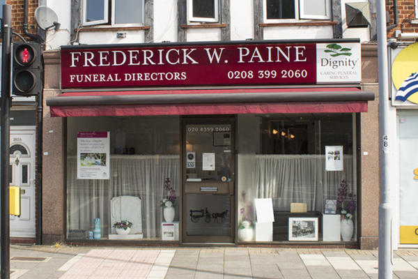 Frederick W Paine Funeral Directors in Surbiton