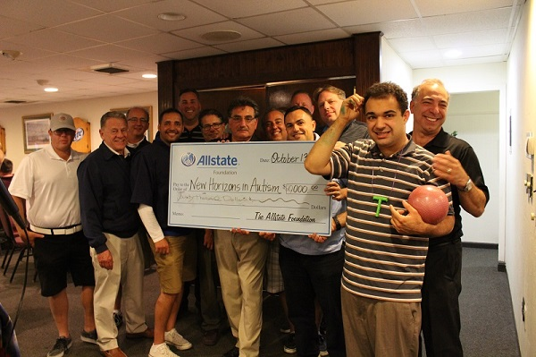 Robert L Cella - New Horizons in Autism Receives Allstate Foundation Grant