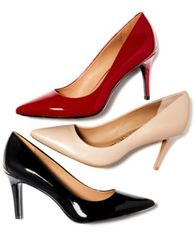 Image of Calvin Klein Women's Gayle Pointed-Toe Pumps