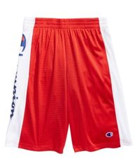 Image of Champion Heritage Script Shorts, Big Boys