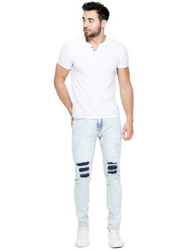 Guess Factory men's distressed denim