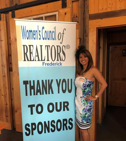 Agent and Women's council of realtors sign