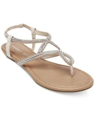 Image of Madden Girl Trudi Embellished Thong Sandals