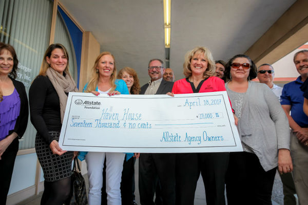 Kelly J. Berhost - Haven House Receives Allstate Foundation Helping Hands Grant