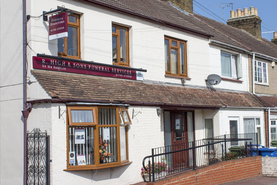 R High & Sons Funeral Directors in Sittingbourne
