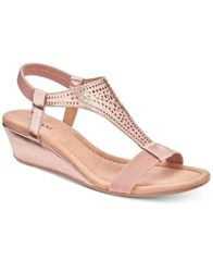 Image of Alfani Women's Vacanzaa Wedge Sandals, Created for Macy's