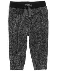 Image of First Impressions Marled Jogger Pants, Baby Boys (0-24 months), Created for Macy's