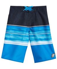 Image of Laguna Sunset Cove Colorblocked Swim Trunks, Big Boys