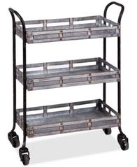 Image of Home Essentials Galvanized Cart