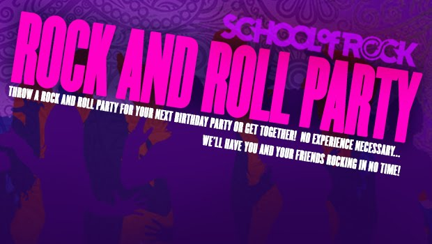 Image of ROCK N ROLL BIRTHDAY PARTIES / KIDS PARTIES / ADULT PARTIES