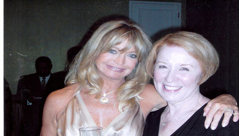 Ruth with Goldie Hawn